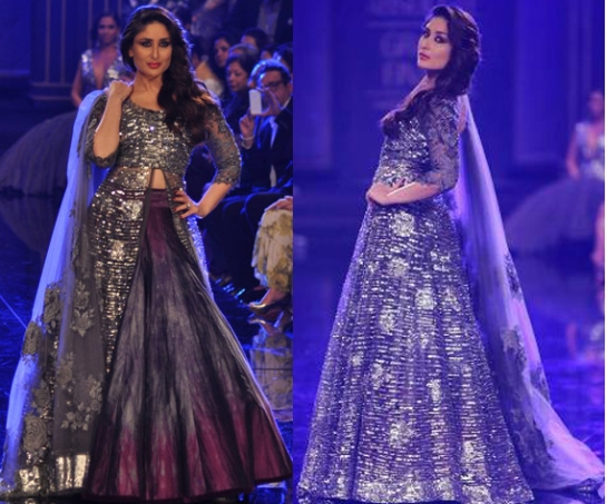 kareena kapoor lakme fashion week  winter 2014