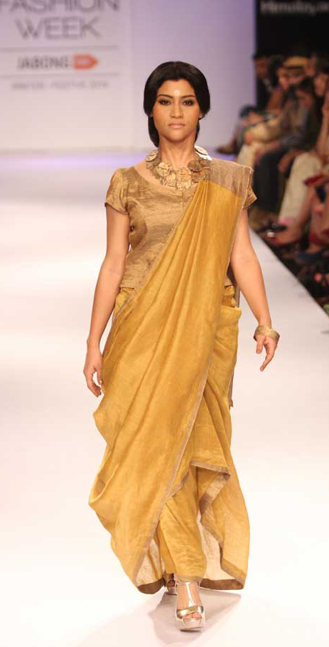 konkana-sen-sharma, lakme fashion week winter 2014