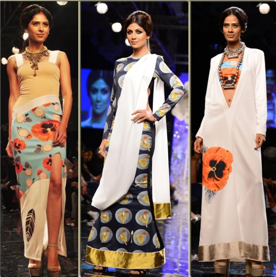 Masaba Gupta, Lakme Fashion Week , winter festive2014