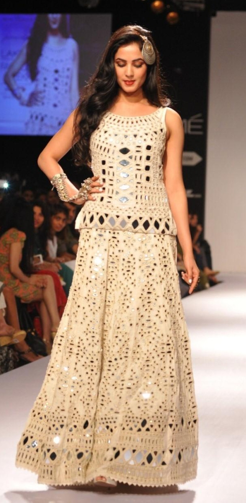 sonal chauhan lakme fashion week winter 2014